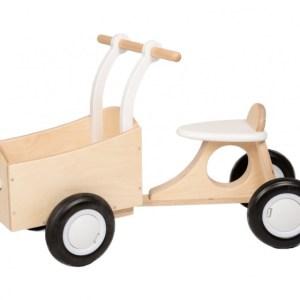 Van Dijk Toys loop-bakfiets Junior Wit
