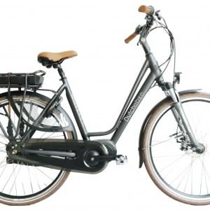 Delfi Mons 28 Inch 52 cm Dames 7V Rollerbrake Matzwart