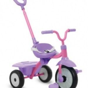smarTrike Folding Fun 3-in-1 driewieler Meisjes Roze/Paars