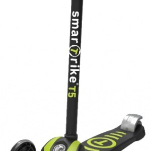 smarTrike Scooter T5 step Junior Zwart/Groen
