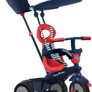 smarTrike Vanilla 4-in-1 driewieler Junior Navy/Rood