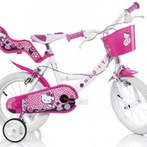 Dino 164R-HK Hello Kitty 16 Inch 27 cm Meisjes Knijprem Roze
