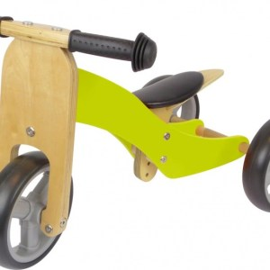 Fieldyards JW138 2-in-1 loopfiets Junior Groen
