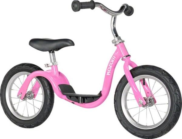 Kazam loopfiets 12 Inch Junior Roze