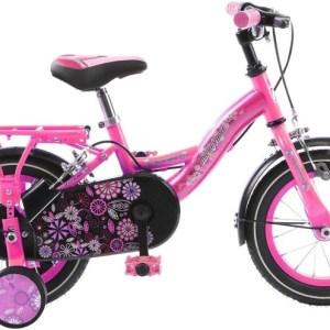 Mickeybike Mickeybike 12 Inch 24 cm Meisjes V-Brake Roze