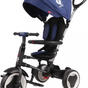 QPlay Rito Deluxe Junior Zwart/Blauw