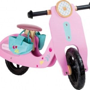 Small Foot Loopfiets Pink speedster 12 Inch Meisjes Roze