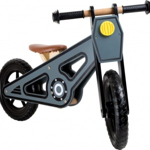 Small Foot Loopfiets Speedy 12 Inch Junior Grijs