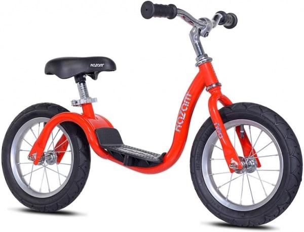 Kazam NEO v2s Balance Bike loopfiets 12 Inch Junior Rood