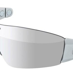 Lazer fietsbril Magneto M1 unisex zilver/chrome