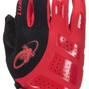 Lizard Skins fietshandschoenen Monitor SL Gel zwart/rood mt 9