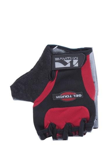 M-Wave Fietshandschoenen Gel rood zwart maat XL