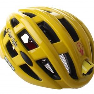 Pro Sport Lights fietshelm met verlichting unisex geel mt 49-59