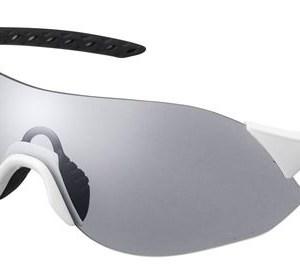 Shimano fietsbril Aerolite S unisex fotochromisch wit