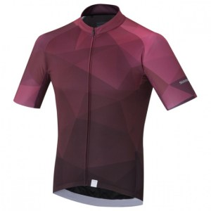 Shimano fietsshirt Breakaway heren paars maat M
