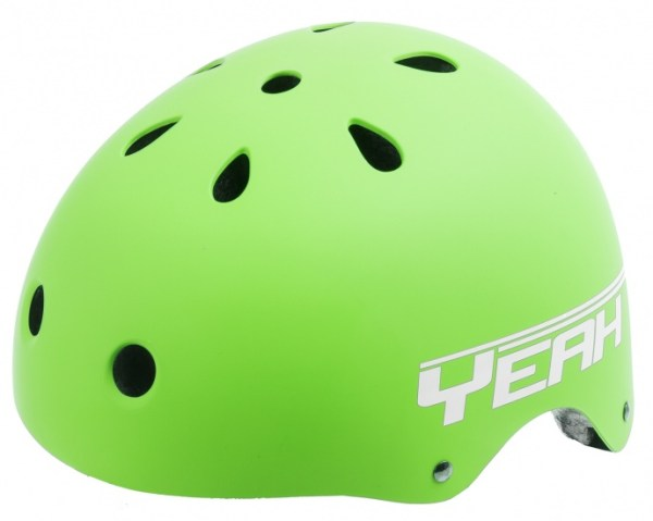 Ventura Freestyle BMX Helm Mat Groen Maat L (58-61 cm)