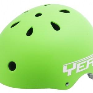 Ventura Freestyle BMX Helm Mat Groen Maat M (54-58 cm)