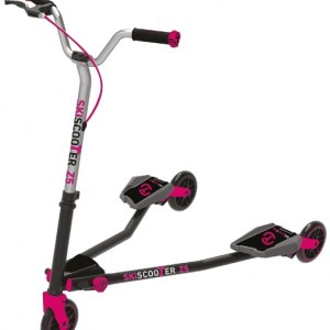 smarTrike Skiscooter Z5 Junior Zwart/Roze