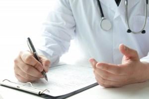医者の診断書