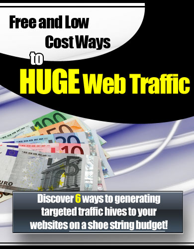 """Discover 6 Ways To Gathering Targeted Traffic Hives To Your Websites On A Shoe String Budget!"""