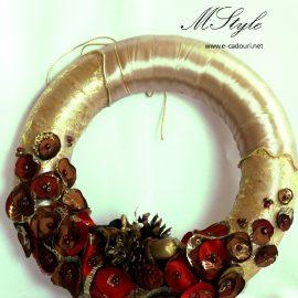 Cadouri Crăciun - Coroniță ușă/geam handmade