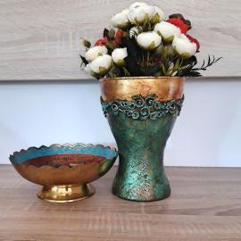 Vaza antichizata baroque 17 cm