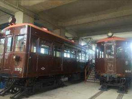 昭和初期、大正の時代の電車