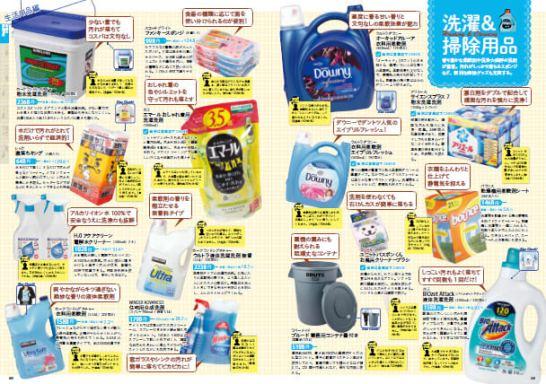 大容量の洗濯洗剤やシャンプーなど、生活用品もたっぷり紹介。全商品コストコユーザーのクチコミ付き。