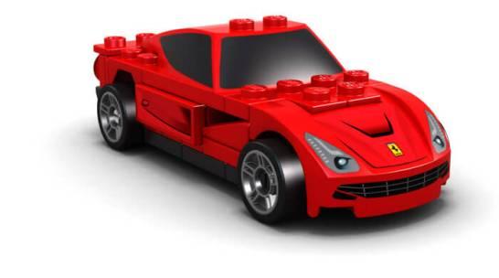 FERRARI F12 BERLINETTA - Shell V-Power LEGO®コレクション