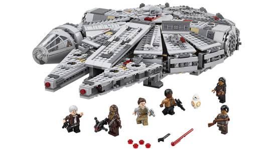 フォースの覚醒仕様 ミレニアム・ファルコン - LEGO