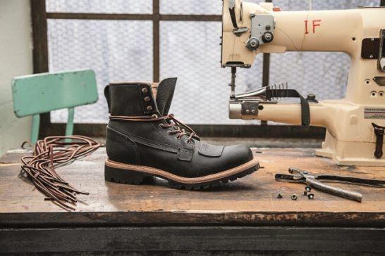 6In Lineman Boot Black A12YY ¥79.000