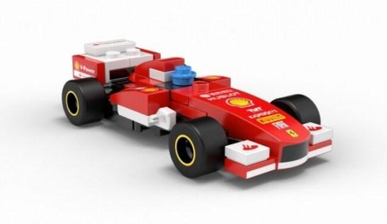 FERRARI F138 - Shell V-Power LEGO®コレクション