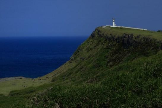 日本最西端の孤島、沖縄県与那国島。島の東端の岬、東崎(あがりざき)。/撮影・小林廉宜