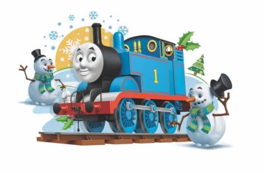 このクリスマスだけの特別なトーマスたちに会いにいこう☆ どんな装いになるのかお楽しみに♪