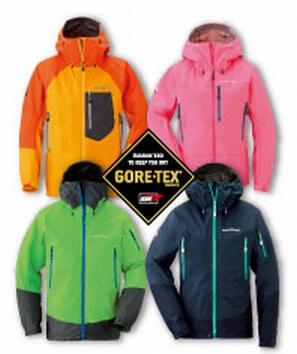 モンベルの GORE-TEX アルパインジャケット