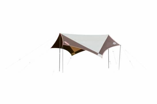 「ウェザーマスター® ヘキサタープ/L」:設営バリエーションが楽しめる大型ヘキサタープ