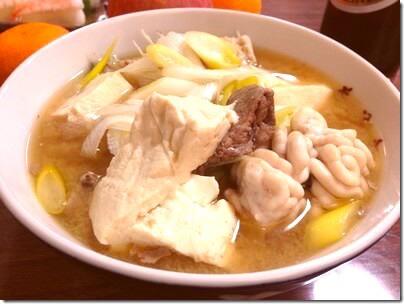 朝日町の郷土料理「たら汁」