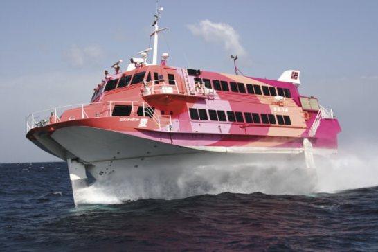 高速ジェット船 - 東海汽船