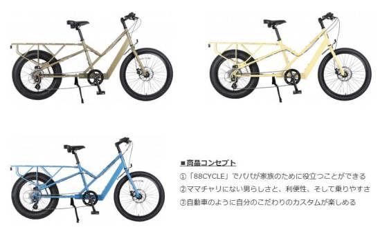 88CYCLE - 88台限定販売