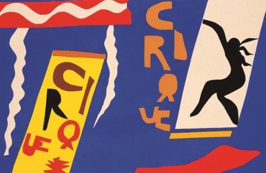 アンリ・マティス《サーカス》(詩画集『ジャズ』より)1947年 富士ゼロックス版画コレクション