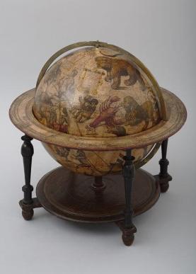 ヨドクス・ホンディウス(父) 《天球儀》/アムステルダム、オランダ/1600年