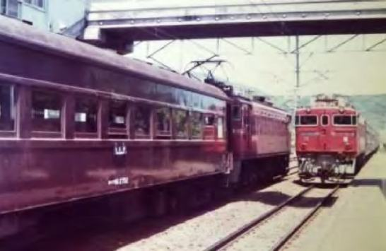 昭和50年代 東北本線旧型客車列車 (イメージ)