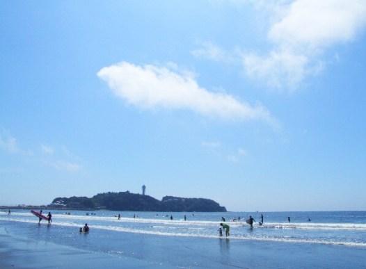 江の島の風景(イメージ)