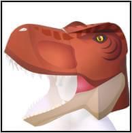 かぶりもの(ティラノサウルス)