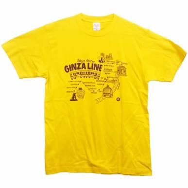 Tシャツ銀座線(街並み)