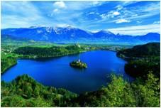 ロベニア - ブレッド湖