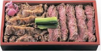 〈柿安牛めし〉黒毛和牛焼肉&牛めし