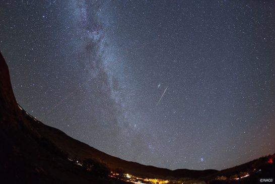 著作権:国立天文台  観測地:ハワイ島マウナケア中腹  撮影日時:2013年8月12日 午前1時4分(ハワイ時間)