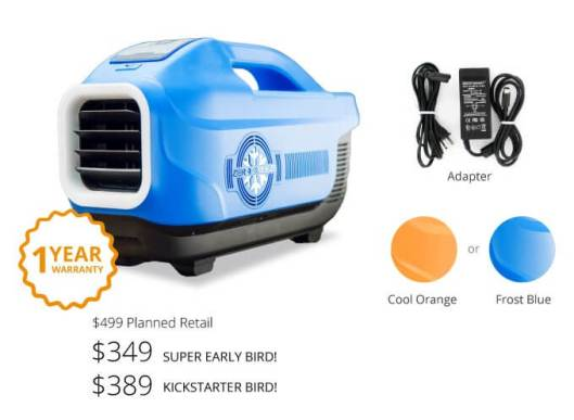 Zero Breeze - kickstarter