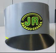 乗車マナー教室と駅員制帽のサンバイザー制作